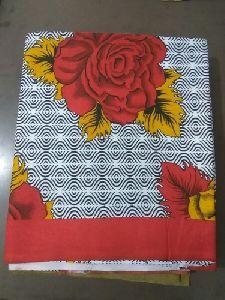 Rose Printed Cotton Bed Sheet
