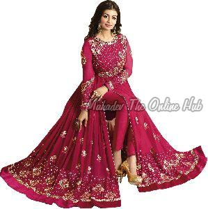 Anarkali Salwar Suits F1129 Pink