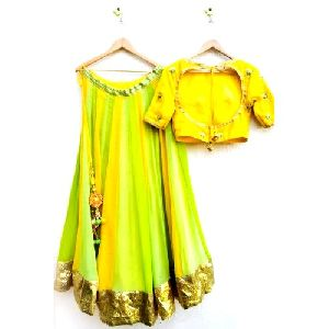 Designer Cotton Lehenga Choli