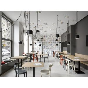PVC Cafe Interior Designing Services