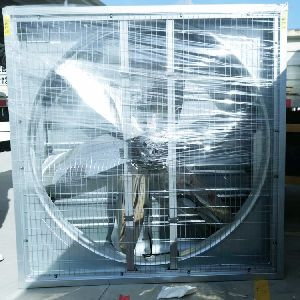 Galvanized negative pressure fan