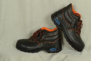 Ankle Single Sole Safety Shoes