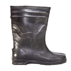 Leather Captain Gumboot