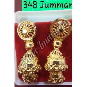 Brass Antique Earrings
