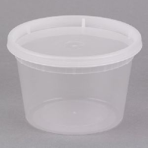 200ml Disposable Plastic Food Container