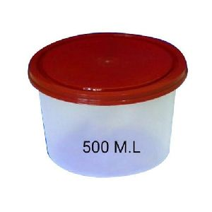 500ml Disposable Plastic Food Container