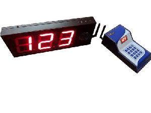Wireless Token Display System With Bell Sound