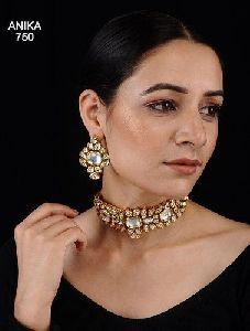 High Quality Imitation Kundan Necklace Set
