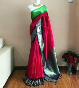 Gadwal Soft Silk Saree