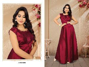 D. No - 1082 Long Dress