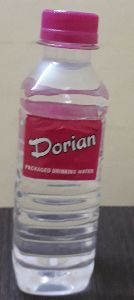 Dorian Package Drinking Water Bottles 250 Ml