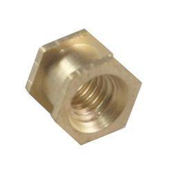 Brass Hex Mould Insert