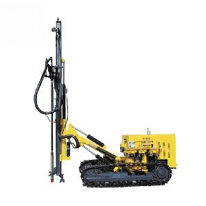 Crawler Type DTH Drill Rig