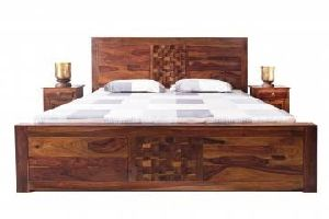 sheesham wood bed sfw-ujwa