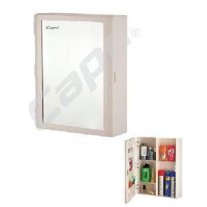 Plastic Mirror Bathroom cabinet