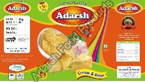 Adarsh Cream & Onion Chips