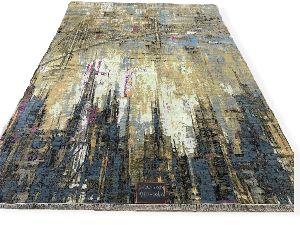 GE-112 Modern Design Hand Knotted Carpet