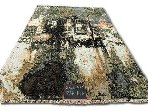 GE-114 Modern Design Hand Knotted Carpet