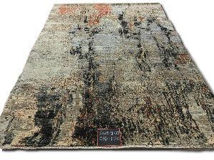 GE-122 Modern Design Hand Knotted Carpet