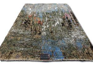 GE-127 Modern Design Hand Knotted Carpet