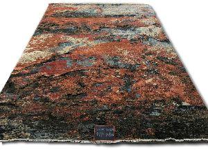 GE-129 Modern Design Hand Knotted Carpet