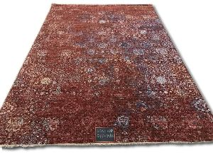 GE-130 Modern Design Hand Knotted Carpet