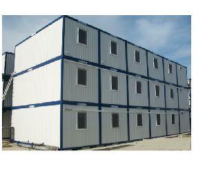 Prefabricated Triple Story Buildings