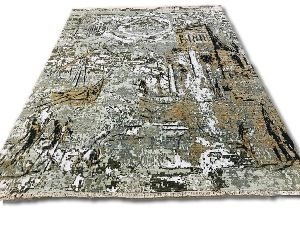GE-211 Modern Design Hand Knotted Carpet