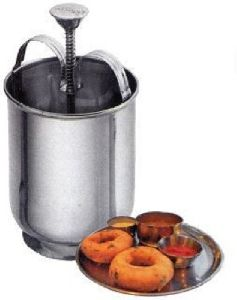 Stainless Steel MEDUVADA Maker for Perfectly Shaped & Crispy Medu Vada, Hygienic Without Any Hassle