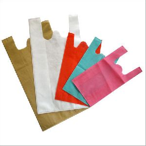 Non Woven W Cut Carry Bags