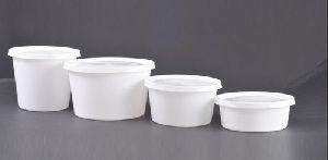 Plastic PP Round Containers