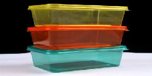 Rectangle PP Reusable Containers