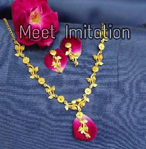Gold Necklace Set