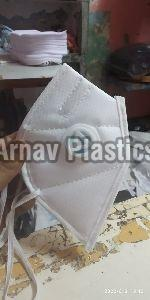 BRIGHT N95 MASK WITH RESPIRATOR AND NOSE PIN