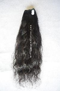 Indian Raw Unprocessed Weft Hair Bundles (Natural Wavy)