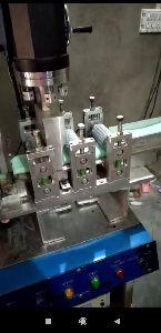 Automatic sponge cutting welding machine