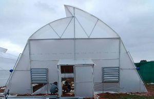 Fan Pad Greenhouse