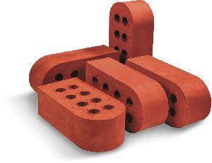 REB-80 Extruded Wirecut Bullnose Brick