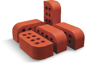 REB-81 Extruded Wirecut 2 Side Round Brick