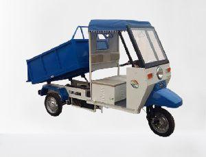 Blue Green Red Battery electric garbage e rickshaw