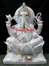 Marble Ganesh Statue 02