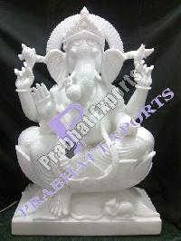Marble Ganesh Statue 03