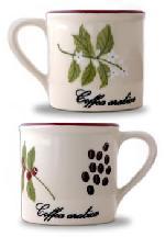 hand painting mugs