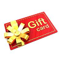 plastic gifts cards