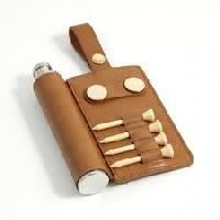 leather golf accessories