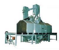 Roller Conveyor Type Shot Blasting Machine