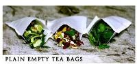 Plain Empty Tea Bags