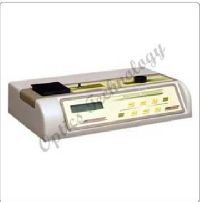 Microprocesor Based Spectrophotometer