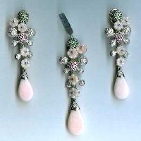 Gemstone Earrings - Gse - 018