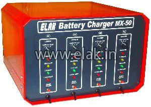 Automotic Motorcycle Battery Charger Model Mx-50